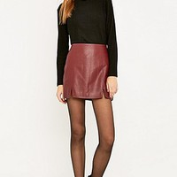 Urban Outfitters Vegan Leather Mini Skirt - Urban Outfitters