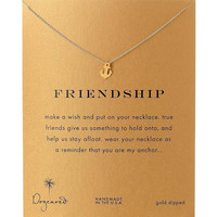 Anchor Collier Dogeared Floating Locket Charm Gold Chain Sparkling Crew Statement 2016 New Fashion Necklace & Pendants For Women