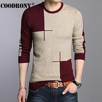 New Arrivals Thick Warm Sweaters O-Neck Wool Sweater Men Clothing Knitted Cashmere Pullover Men