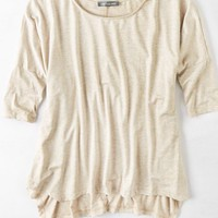 AEO Women's Don't Ask Why Boxy Long Sleeve T-shirt