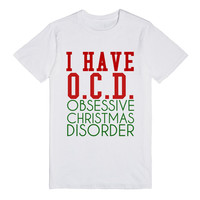 OBSSESSIVE CHRISTMAS DISORDER T-SHIRT