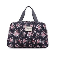 Lady Large Capacity Floral Duffel Totes