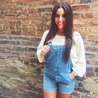 Free People Relaxed Shortalls
