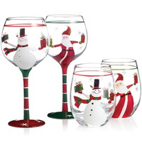 Certified International Christmas Drinkware Collection