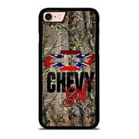 CAMO BROWNING REBEL CHEVY GIRL iPhone 8 Case Cover