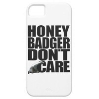 Honey Badger iPhone 5 Covers from Zazzle