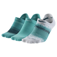 Nike Graphic Tab No-Show Socks (3 Pair) Size M
