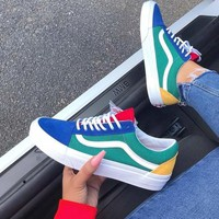 Vans Old Skool Color Splicing Sneaker