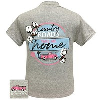 Girlie Girl Originals Preppy Country Roads  T-Shirt