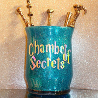 Harry Potter Chamber Of Secrets Makeup Brush Holder - YOU CUSTOMIZE!