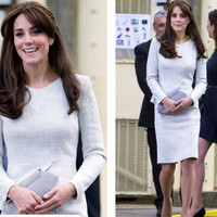 kate middleton wigge/peplum pencil dress or swing made to measure ALL SIZES classic