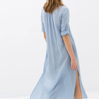 LONG TUNIC WITH SLITS