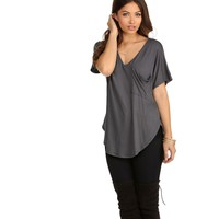 Charcoal Pleasant Surprise Tee