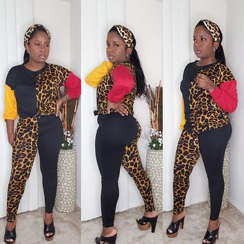 DOUBLE TROUBLE - Cheetah Print Set