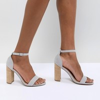 ASOS DESIGN Tamsina Heeled Sandals at asos.com