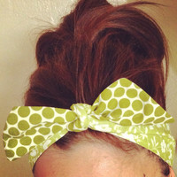 Mix and Match REVERSIBLE Dolly Bow Headband - EXCLUSIVE