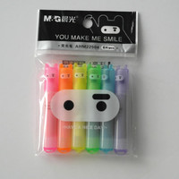 Kawaii Multicoloured Small Ninja Bright felt pens Highlighters pack Christmas Stocking Stuffer Kids Teens Gifts