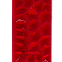 Red Crystal Hard Plastic iPhone 5 & 5s Case
