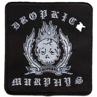 Dropkick Murphys Men's Do Or Die Embroidered Patch Black