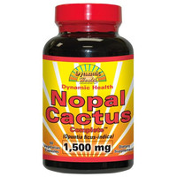 Dynamic Health Nopal Cactus Complete - 1500 Mg - 60 Vegetarian Capsules  10% Off Auto renew