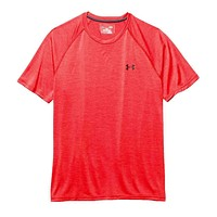 Men's UA Tech™ Short Sleeve T-Shirt in Red by Under Armour
