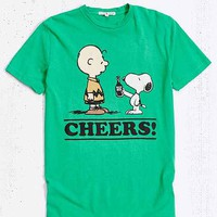 Junk Food Peanuts St. Patty's Tee