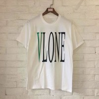 Skateboard Skater t-Shirt Vlone T-shirts  New Summer Style High Quality Friends Vlone T-shirts  Streetwear Hip Hop Vlone T Shirt Top Tees AT_45_3