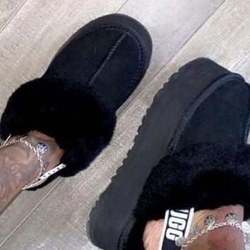 UGG hot new products plush toe slippers sandals boots