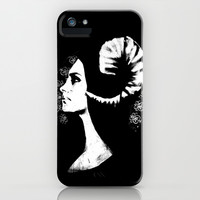 The White Faced Woman iPhone & iPod Case by Karl Wilson Photography