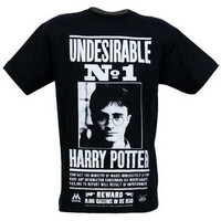 Harry Potter Undesirable No. 1 Adult T-Shirt  