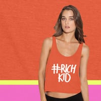 Rich Kid ladies' flowy tanktop