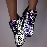 Adidas Fashion Chameleon Reflective Sneakers Sport Shoes