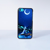 Aladdin Disney Princess Plastic Case Cover for Apple iPhone 5C 6 Plus 6 5S 5 4 4s