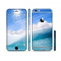 The Sunny Day Waves Sectioned Skin Series for the Apple iPhone 6 Plus