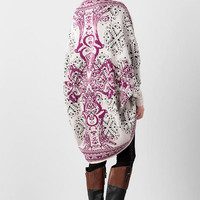 Rosewood Paisley Sweater Wrap