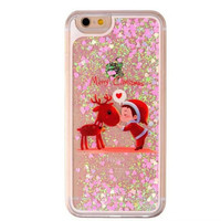 Merry Christmas Move Glitter Iphone 6 6s plus Cases Gift