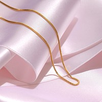 Silk Box Chain Necklace