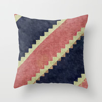 jeans Throw Pillow by Munich