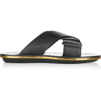 Marni - Textured-leather sandals