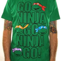 Teenage Mutant Ninja Turtles T-Shirt - Go Ninja Go Ninja Go