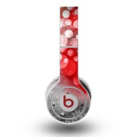 The Bright Unfocused White & Red Love Dots Skin for the Original Beats by Dre Wireless Headphones