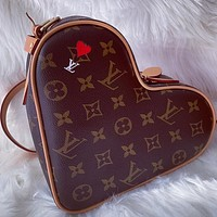 Louis Vuitton LV GAME ON COEUR Handbag Poker Love Bag Heart-shaped Bag