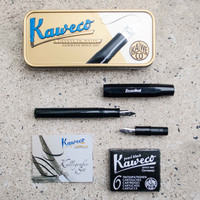 Kaweco Mini Calligraphy Set Black