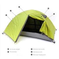Trackman 3 Season 2 Person Camping Tent Double Layer Waterproof Windproof Hiking Outdoor