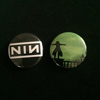 """NINE INCH NAILS 1"""" buttons"""