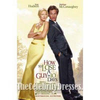 Kate Hudson Yellow Evening Dress in How to Lose a Guy in 10 Days Celebrity Dress - TheCelebrityDresses