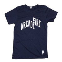 Arcade Fire - Ladies' Euro Logo T-Shirt