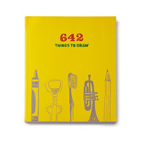 642 THINGS TO DRAW | art instruction sketch teaching | UncommonGoods