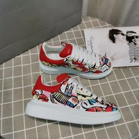 Alexander Mcqueen Graffiti Oversized Sneakers Reference #10 - Best Online Sale
