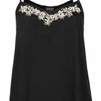 EMBELLISHED DETAIL CAMI